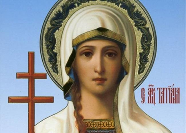 Ікона Святої Тетяни