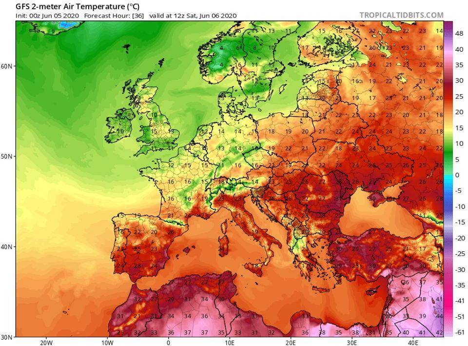 На Україну насувається спека: коли температура стрибне до +30