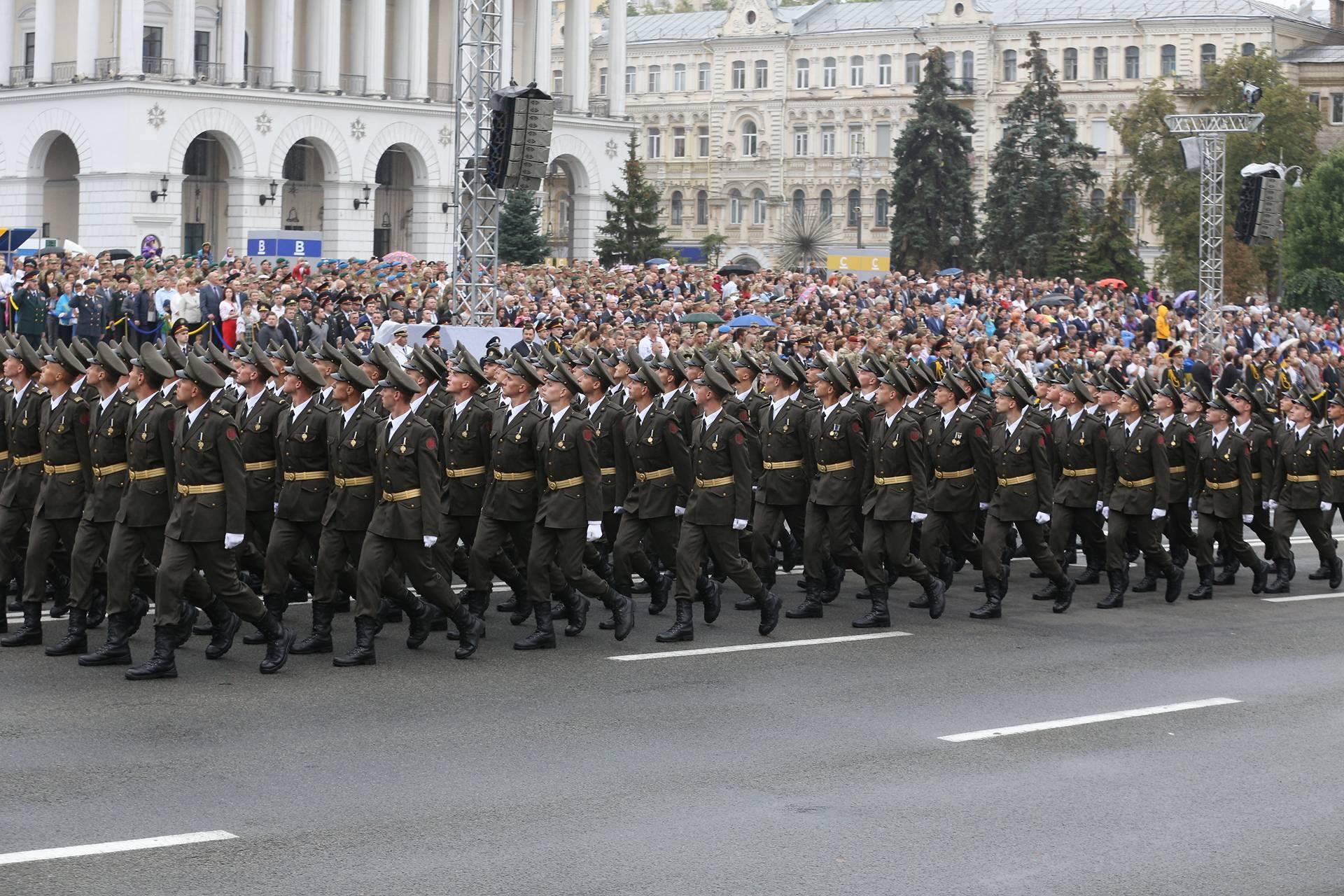 В киеве прошел военный парад фото