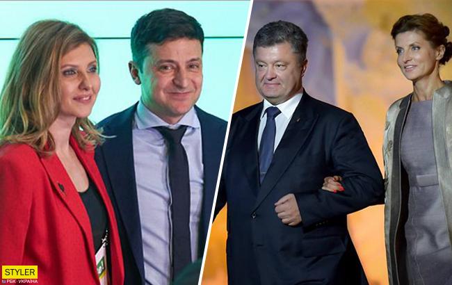 Зеленська і Порошенко: які таємниці зберігають дружини кандидатів у президенти