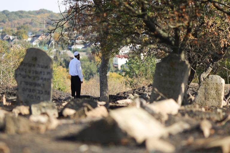 Єврейське кладовище в Умані