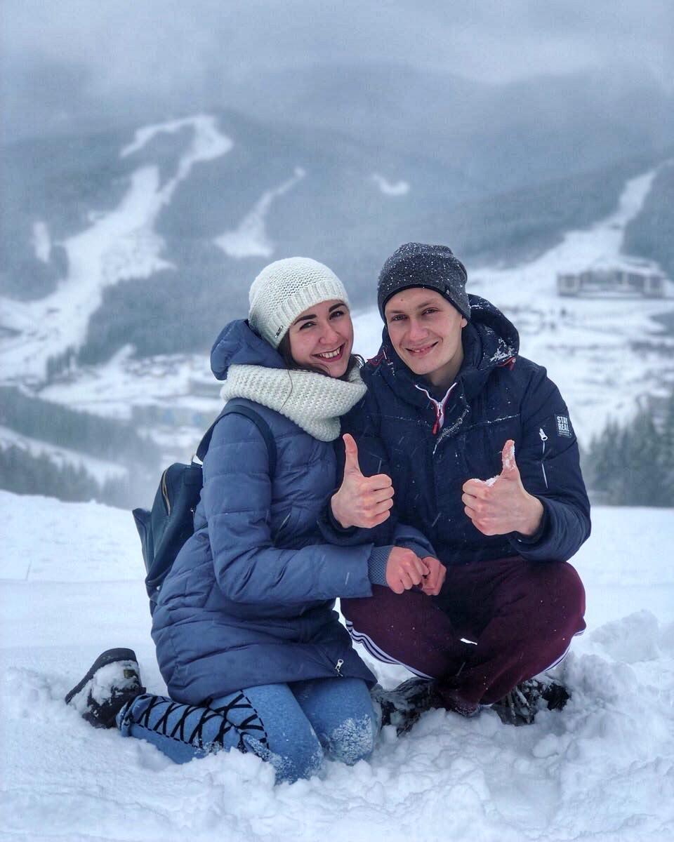 Фото зима україна
