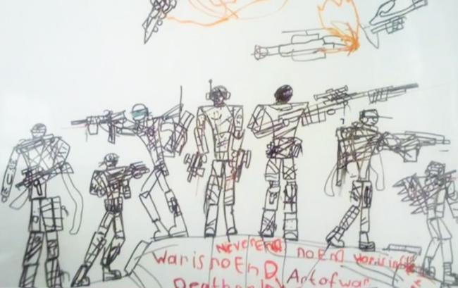 Рисовал кровавые рисунки: мальчик, который напал на учительницу, вероятно ранее имел проблемы