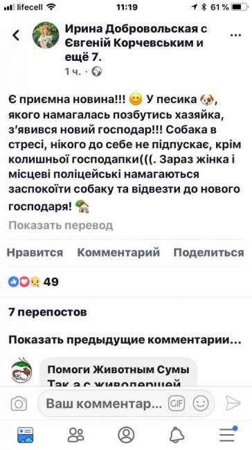 """""""Твари двуногие"""": в Киеве женщина зверским образом пыталась избавиться от собаки"""