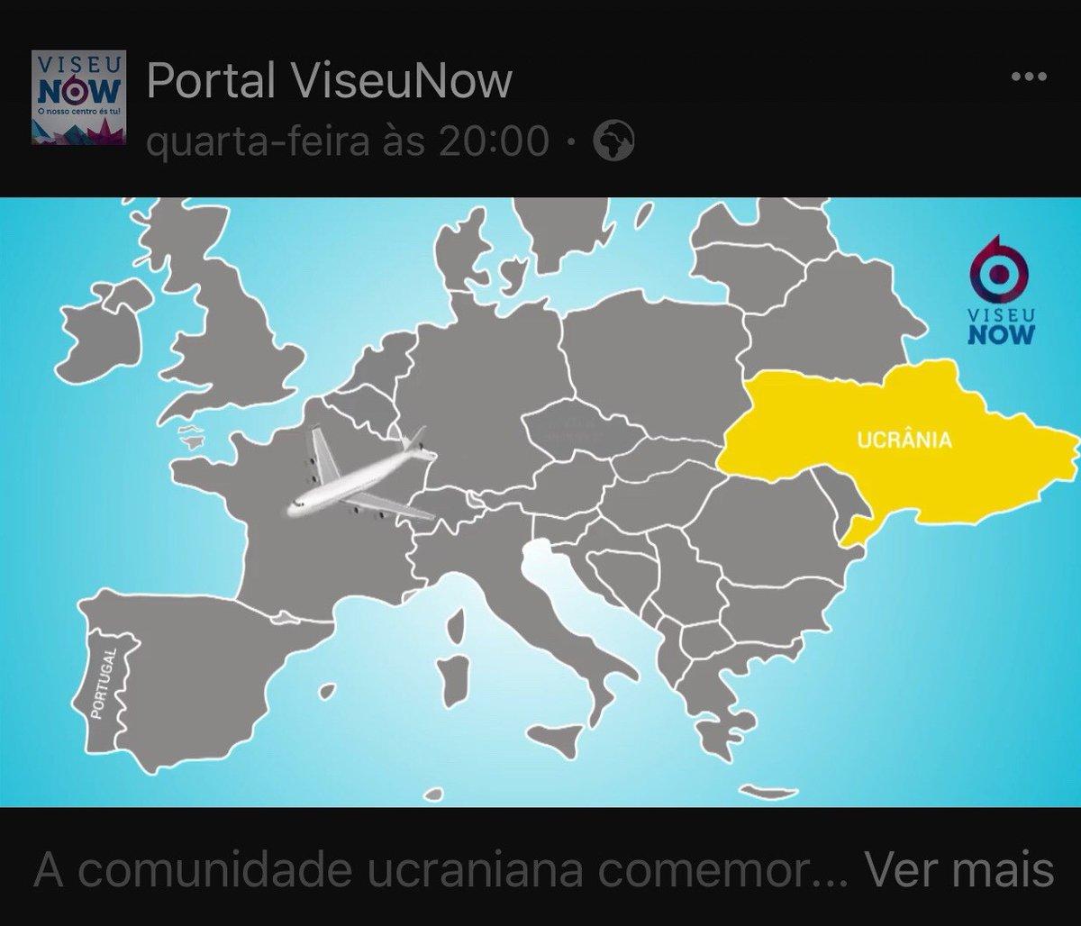 Португальский телеканал показав карту Європи зУкраїною без Криму