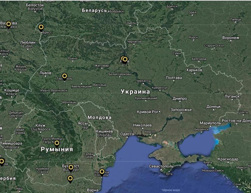 Как звучит Украина: в сети появилась звуковая карта мира