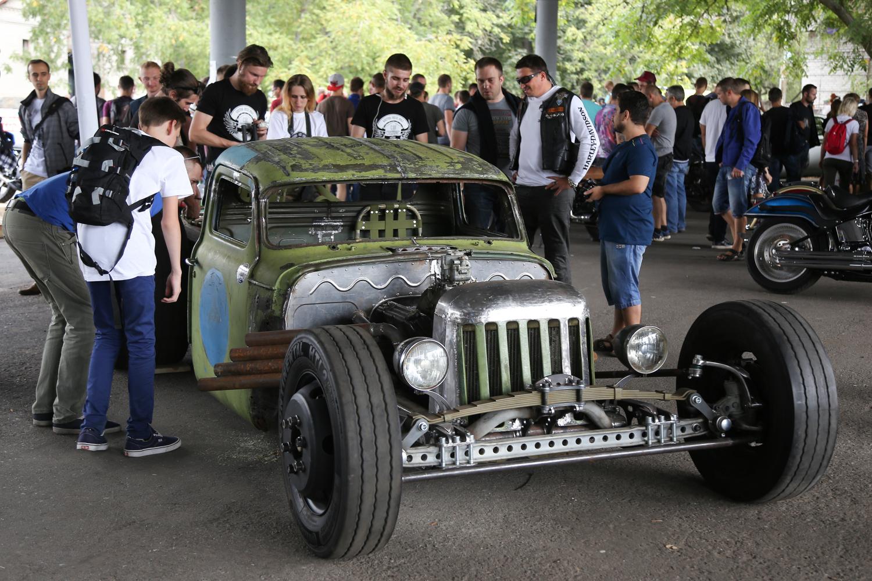 Авто на касто-фестивале 2016 в Киеве