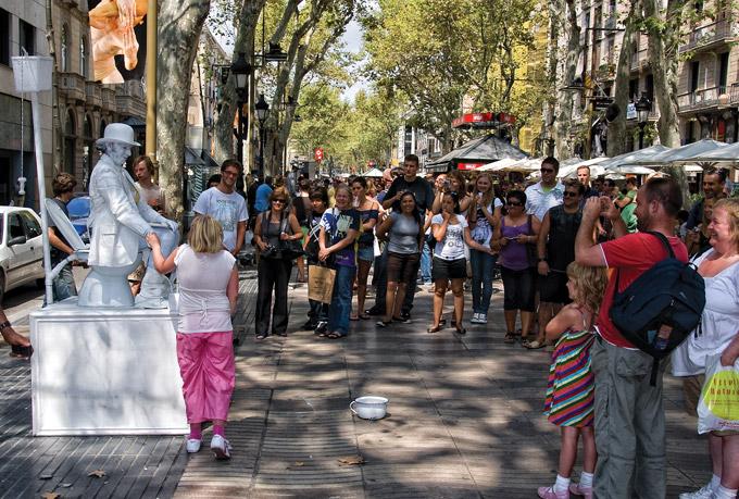 Барселона las ramblas проститутки