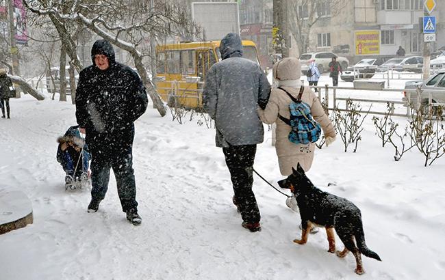 Прогноз погоды на зиму: чего ждать украинцам