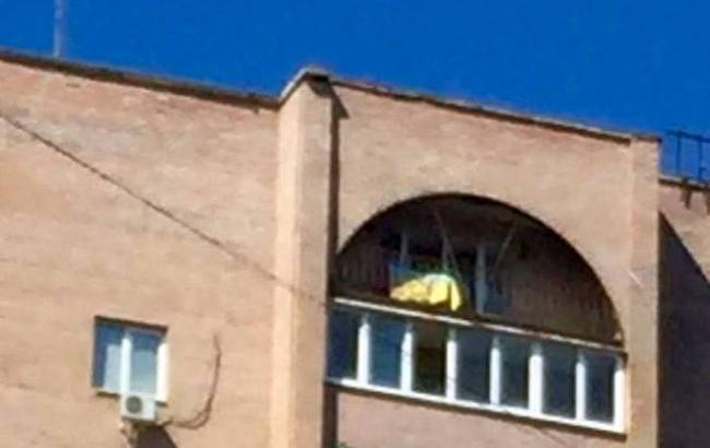 Блогер Колесник: Над квартирой Моторолы вДонецке повесили украинский флаг