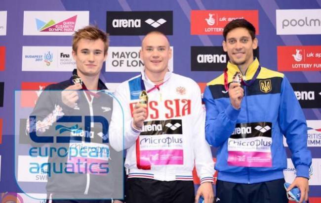 Горшковозов завоевал бронзу наЕвропейском первенстве поводным видам спорта