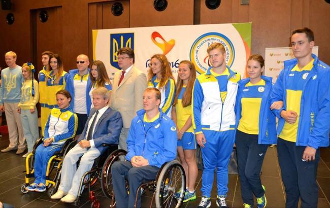 Украинцы наПаралимпиаде вРио будут участвовать в14 видах спорта