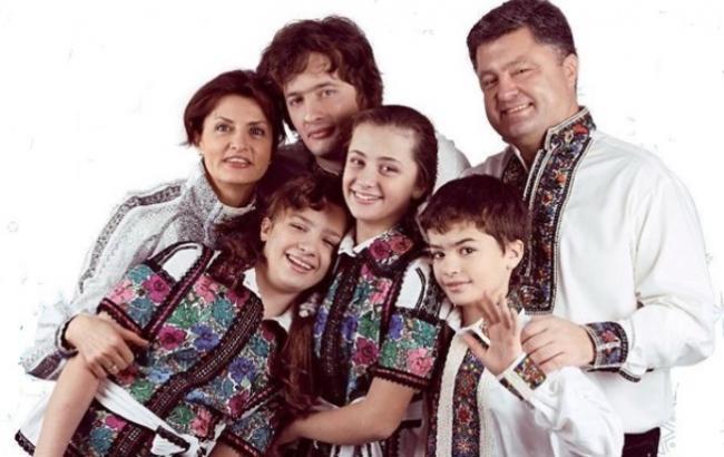 Петр Порошенко стал дедушкой во 2-ой раз