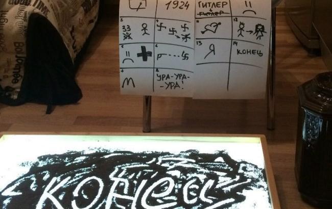 «Прахдед»: девочка рисовала «прахом прадеда» для рекламы фильма Михалкова