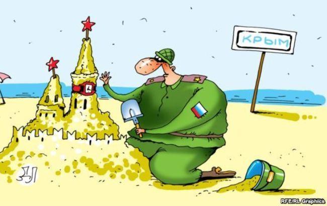 Оккупанты ищут четверых «вооруженных вкамуфляже»— Переполох вКрыму