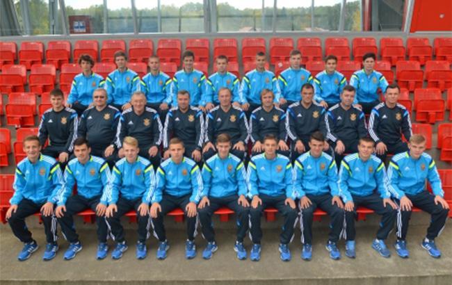 Юношеская сборная Украины угодила в заключительную часть Чемпионата Европы
