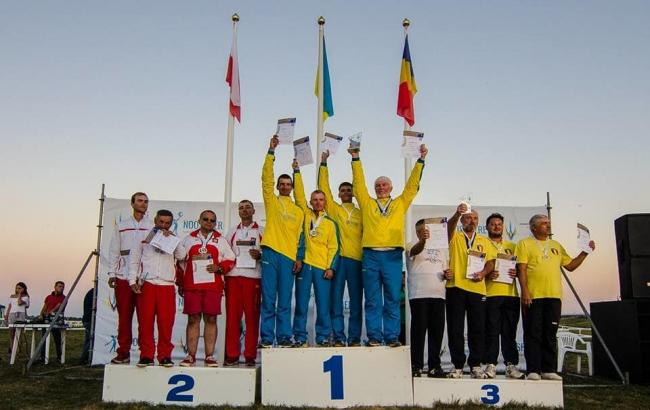 Сборная Украины поракетомодельному спорту триумфировала начемпионате мира
