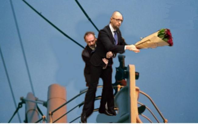 """""""Мы пришли единой командой и единой командой будем работать"""", - Яценюк на заседании Кабмина - Цензор.НЕТ 9666"""