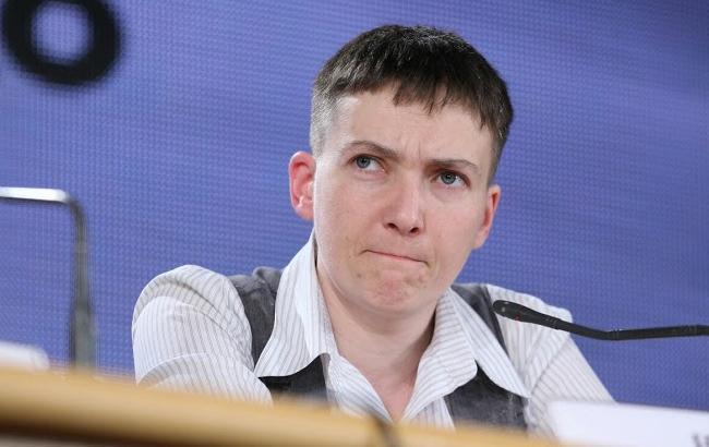 Савченко проинформировала о прогрессе ввопросе освобождения украинских пленных