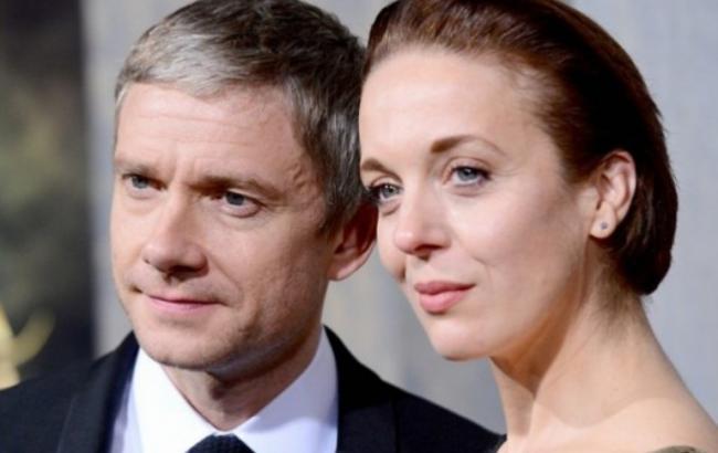 Актёр Мартин Фримен втайне обвенчался свозлюбленной собственной