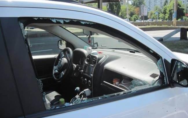 ВКиеве милиция поймала нахальных преступников намотоцикле
