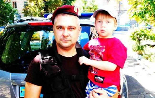 ВКиеве полицейский отыскал мальчика-потеряшку